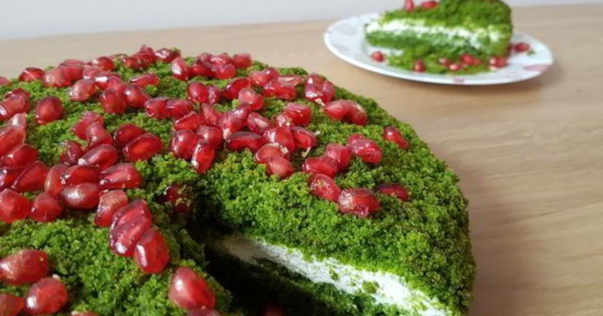 Шпинатный торт рецепт с фото