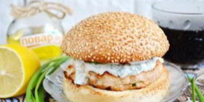 Рецепт куриного бургера тандури